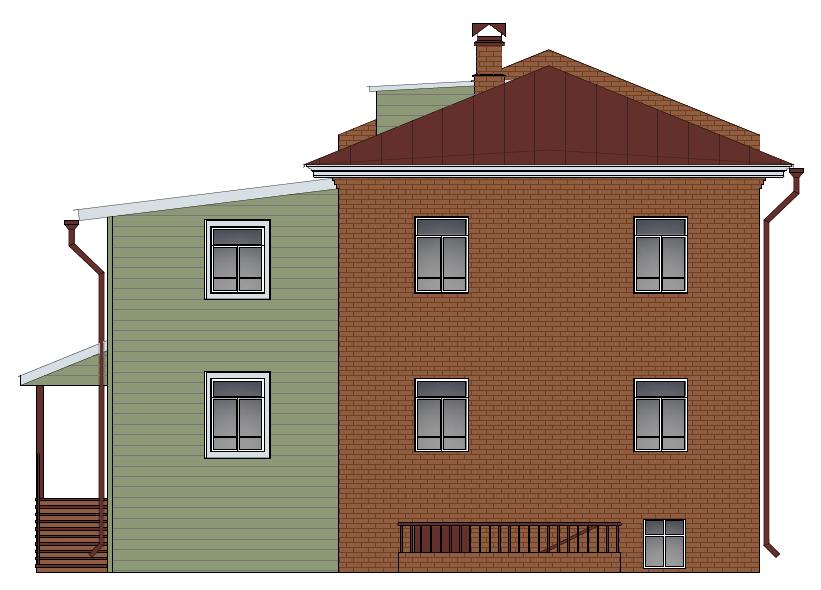 Кустарный фасад 2